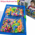 Children Puzzle Peg Board Pegs Kids Early Educational Creative Toy Xmas Gift US