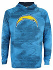 Zubaz NFL Los Angeles Chargers Men's Static Body Lightweight French Terry Hoodie $44.95 USD on eBay