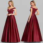 US Ever-Pretty V-Neck Off Shoulder Evening Cocktail Prom Dresses Ball Gowns 7934 $32.29 USD on eBay