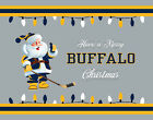 BUFFALO SABRES Style CHRISTMAS Photo Picture SANTA CLAUS HOCKEY PRINT 8x10 11x14 $12.95 USD on eBay