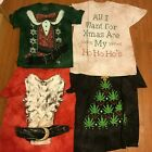 Christmas T-Shirt Ugly Holiday Short Sleeve Shirt Many Variations Printed in USA