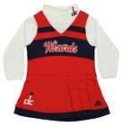 Adidas NBA Infants Washington Wizards Cheer Jumper Long Sleeve Turtleneck Dress on eBay