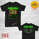 Overkill t Shirt Wings Over The USA Tour 2020 T-Shirt Size M-2XL Men Black image