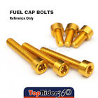 Billet Fuel Tank Cap Bolts For Triumph Daytona 600/650 Daytona 955i 1998-2000 $12.4 USD on eBay