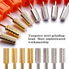 Nail Tungsten Steel Head Nail Drill Bits Nail Art Electric Grinding Machine Tool