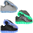 Heelys Premium 1 Lo Lighted Kinder-Rollenschuhe Rollerskates Trainers with Rolls