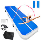 0.2M Airtrack Inflatable Air Track Floor Home Gymnastics Tumbling Mat GYM + Pump image