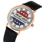 USA President Donald Trump Men's Watch American Flag Sport Casual Watches image