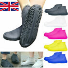 Silicone Overshoes Anti-Slip Rain Waterproof Shoe Covers Boot Cover Protector UK