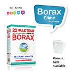 BORAX Slime Activator UK ORIGINAL & BEST Powder Makes perfect slime EVERY TIME!