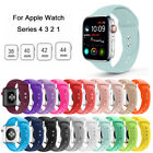 Replacement Silicone Wrist Sport Band Strap For Apple Watch Series 5/4/3/2 40/44 image