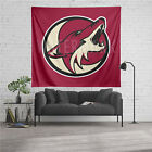 Custom Arizona Coyotes NHL Tapestry Hanging Art Wall Home Decor. $22.0 USD on eBay