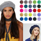 Внешний вид - Womens Warm Hats Wool Fashion Art French Berets Tam Beanie Slouch Cap Accessory