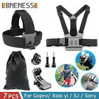 GoPro Accessories Action Camera Accessory Kit Bundle Chest Strap Head Mount Hero