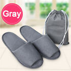 Travel Breathable Non Disposable Slippers Foldable Hotel SPA + Storage Bag 0 SF