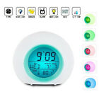 Changing LED Digital Alarm Clock Snooze Home Decor For Boys Girls Gifts 7 CHW