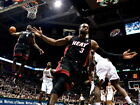 LeBron James Dwyane Wade Alley-oop NBA Gigantic HD Photo Print Poster Multisizes