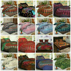 Mandala Bedspread Indian Hippie Queen Size Bed Cover Tapestry Boho Bedding Cover image