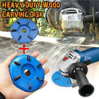 2PC 16mm Woodworking Turbo Plane For Aperture Angle Grinder Wood Carving A8