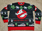 Ghostbusters Holiday Christmas Ugly Sweater Mens Womens NEW sizes L & XL