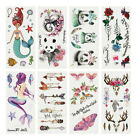 CG_ AU_ FT- Ethnic Panda Arrow Anlter Printed Temporary Tattoo Sticker Body Art $2.16 USD on eBay