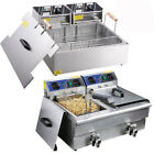 Electric Deep Fryer Commercial Restaurant Hotel 20L 10L 6L Tank Fast Food Party photo
