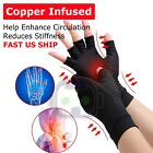 2pcs Copper Arthritis Compression Gloves Hand Support Joint Pain Relief USA