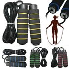 Aerobic Exercise Fitness Boxing Jump Skipping Rope Adjustable Bearing Speed  image