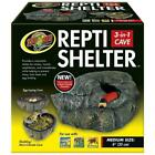 Zoo Med Repti Shelter 3-IN-1 Cave, Medium 8-Inch