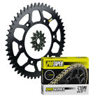 Pro Taper sprockets & Pro Forged O-Ring chain kit for 1979-2008 Suzuki RM125