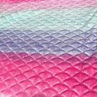 Kyпить Pink, Purple & Blue Mermaid Minky Cuddle Fabric на еВаy.соm