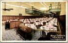 1921 Los Angeles CA Postcard SHAYS CAFETERIA 650 South Hill Street Restaurant