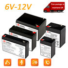 '6v 12v Battery For Ride On Car Electric Scooter Different Models And Sizes