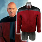 Star Trek The Next Generation Captain Picard Duty Uniform Red Jacket Costume New on eBay