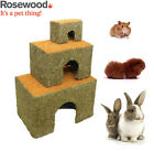 *NEW* ROSEWOOD CARROT COTTAGE SMALL ANIMAL RABBIT HAMSTER EDIBLE HOUSE 3 SIZES