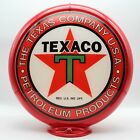 "THE TEXACO COMPANY USA PETROLEUM PRODUCTS 13.5"" Gas Pump Globe SHIPS ASSEMBLED!!"