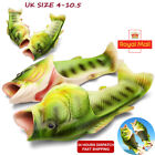 Women Fish Slippers Sandals Funny Beach Flip Flops Slides Holiday vacation Shoes