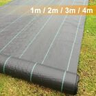 Weed Suppressant, Landscape Fabric, Weed Barrier, Weed Control Membrane 1/2/3/4m