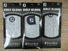 SAVE $$$ 3 NEW FOOTJOY FACTORY SECONDS BLEMISHED GOLF GLOVES YOU CHOOSE SIZE