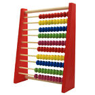 Wooden Abacus 10-row Colorful Beads Counting Kids Learning Educational Toys US