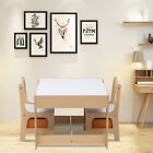Children Table and Chair Set Kid Play furniture Storage Removable Table Top