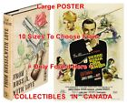 "FROM RUSSIA WITH LOVE 1st Ed. SPANISH=BOOK & 1964 MOVIE POSTER 10Sizes 14""-4.5FT $64.88 CAD on eBay"