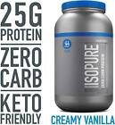 Isopure Zero Carb, Keto Friendly Protein Powder, 100% Whey Protein Isolate, Flav