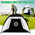 Indoor Outdoor Foldable Golf Practice Cage Training Cage Driving Net Exercise US