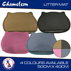 Double-Layer EVA Litter tray Mat Cat shape scatter control paw cleaning 40x50cm
