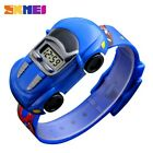 SKMEI Children Cartoon Wristwatch Car Watch Gift for Boys Sport Digital Watches