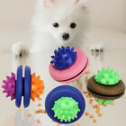 Pet Dog Puppy Rubber UFO Leakage Food Container Molar Interactive Chew Toy  Atom