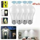 PIR Motion Sensor Bulb E27 12W LED Lamp Infrared Auto Energy Saving Light US