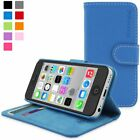 Snugg iPhone 5C Wallet Case – Leather Card Flip Case