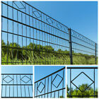 Home Kit Deluxe Double Rod Matt Fence Industrial Fence